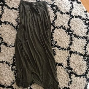 Free People Beach Maxi Skirt